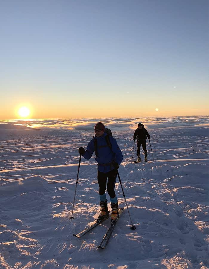 Kurz základů Skialpinismu